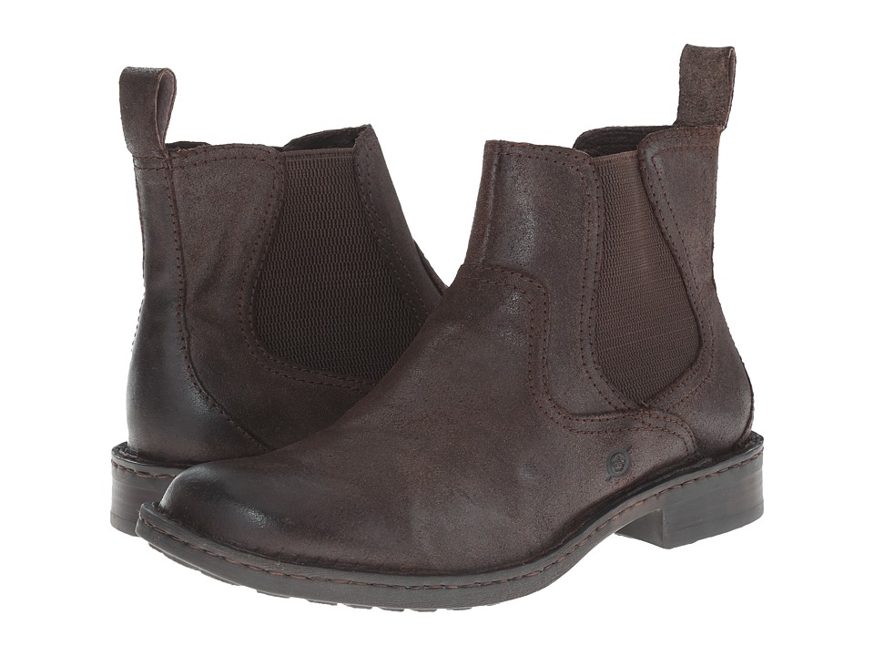 Born - Hemlock (Castagno (Dark Brown)) Men's Pull-on Boots