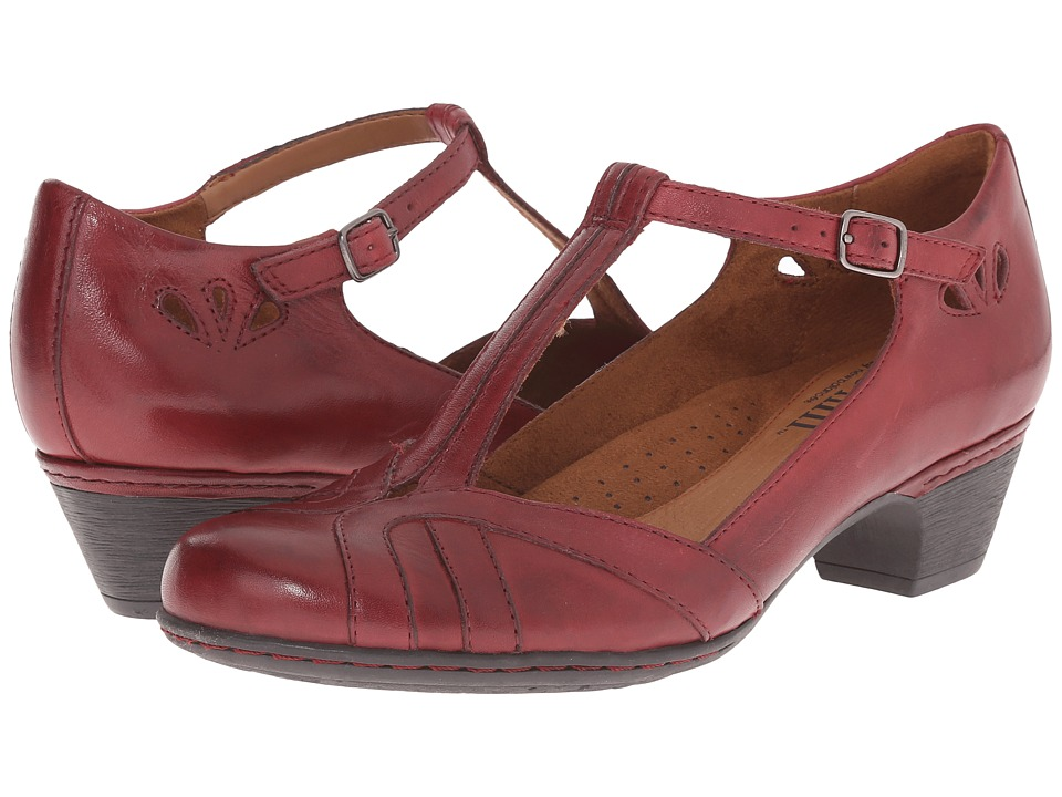 Rockport Cobb Hill Collection - Cobb Hill Angelina (Bourdeaux) Women's Maryjane Shoes