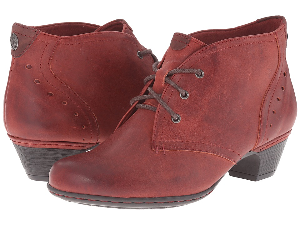 Rockport Cobb Hill Collection - Cobb Hill Aria (Dark Red) Women's Lace-up Boots