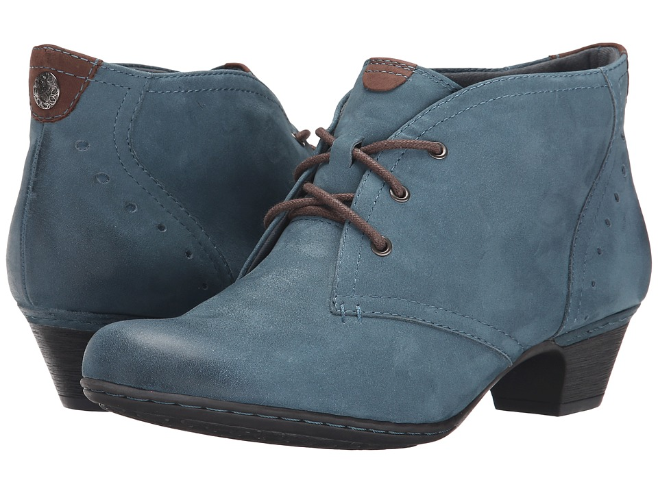 Rockport Cobb Hill Collection - Cobb Hill Aria (Blue) Women's Lace-up Boots