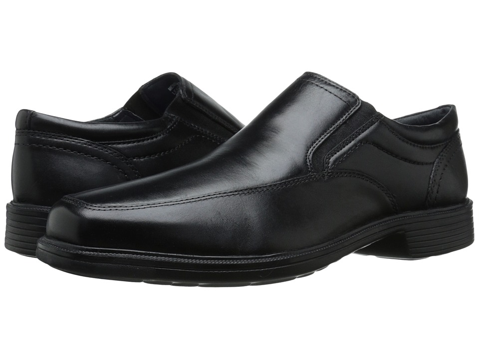 Nunn Bush Calgary Moc Toe Slip-On (Black) Men