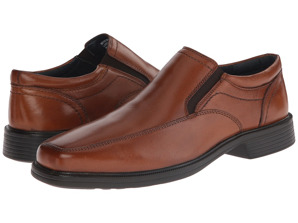 Nunn Bush - Calgary Moc Toe Slip-On (Cognac) Men's Slip-on Dress Shoes