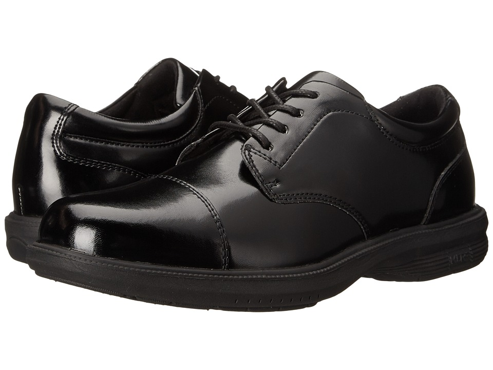 Nunn Bush - Mitchell Street Cap Toe (Black) Men's Lace Up Cap Toe Shoes