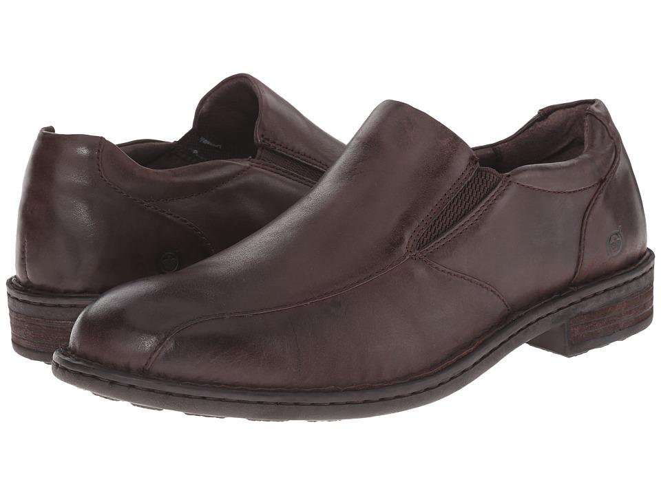 Born - Omaha (Espresso Full Grain Leather) Men's Shoes