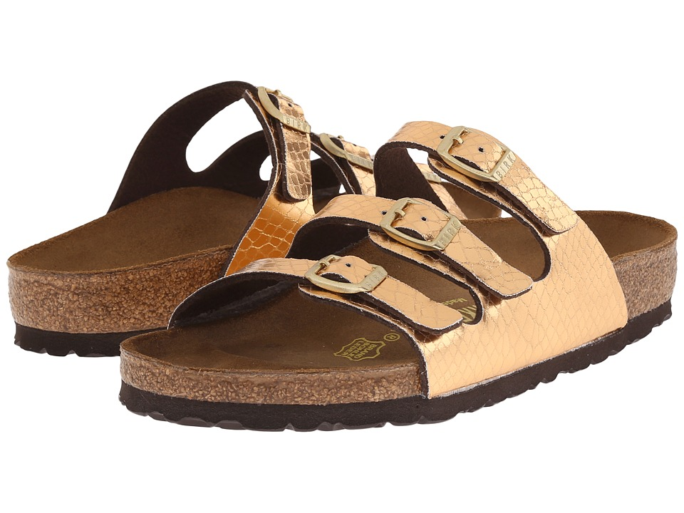 Birkenstock - Florida (Champagne Textile) Women's Shoes