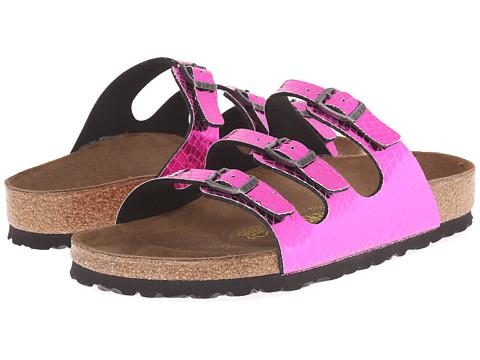 Birkenstock - Florida (Pink Textile) Women