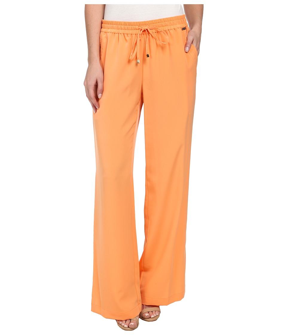 Calvin Klein - Woven Pants w/ Pockets (Tart) Women