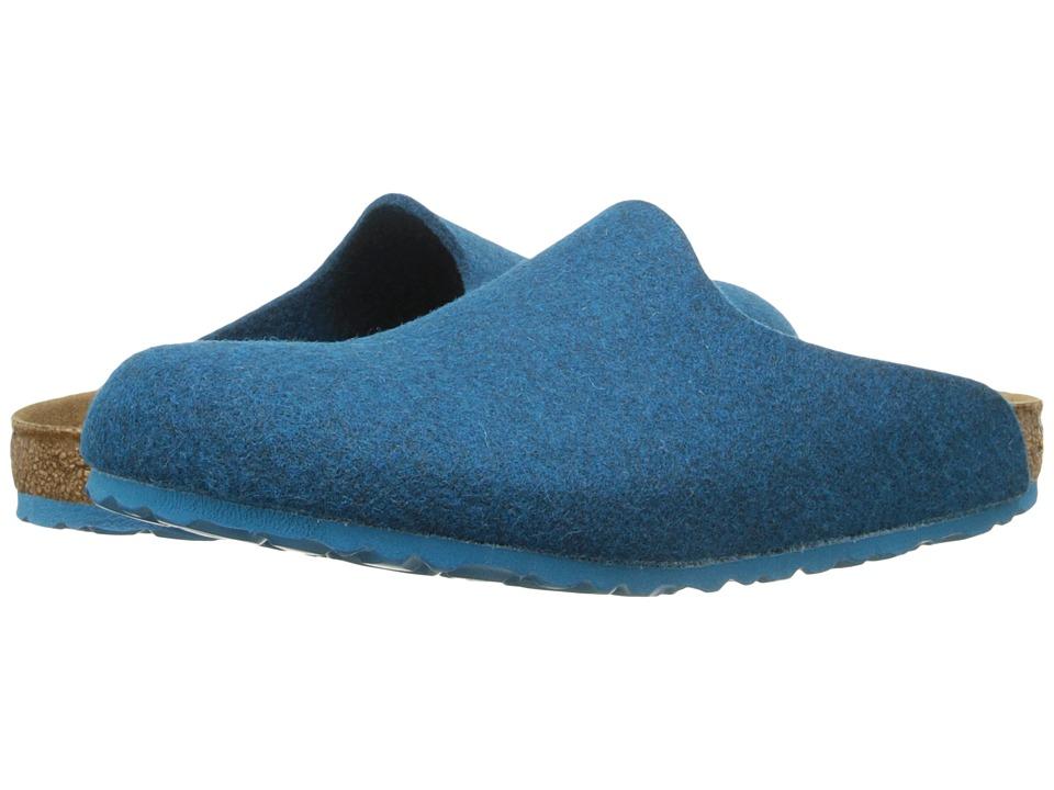 Birkenstock - Amsterdam (Petrol Wool) Clog Shoes