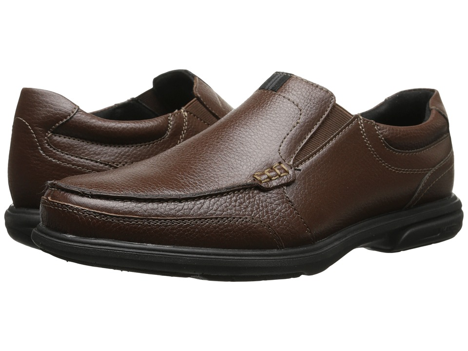 Nunn Bush Carter Moc Toe Slip-On (Chestnut) Men