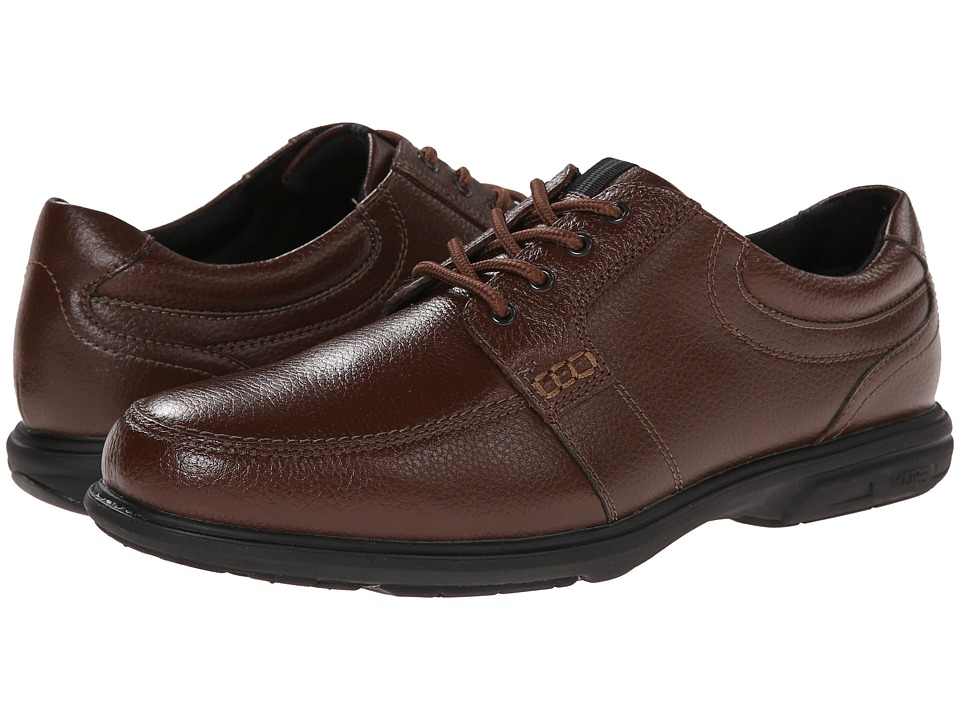 Nunn Bush - Carlin Moc Toe Oxford (Chestnut) Men's Lace up casual Shoes