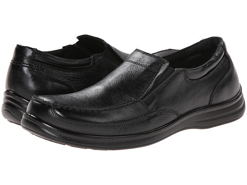 Nunn Bush - Max Moc Toe Slip-On (Black) Men