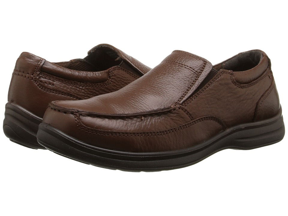 Nunn Bush Max Moc Toe Slip-On (Cognac) Men