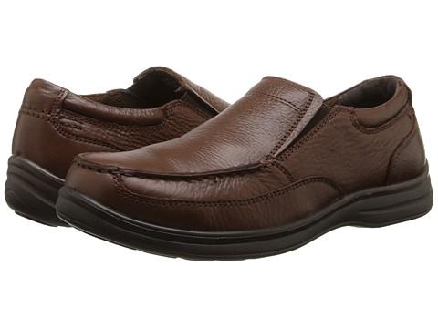 Nunn Bush - Max Moc Toe Slip-On (Cognac) Men's Slip on Shoes