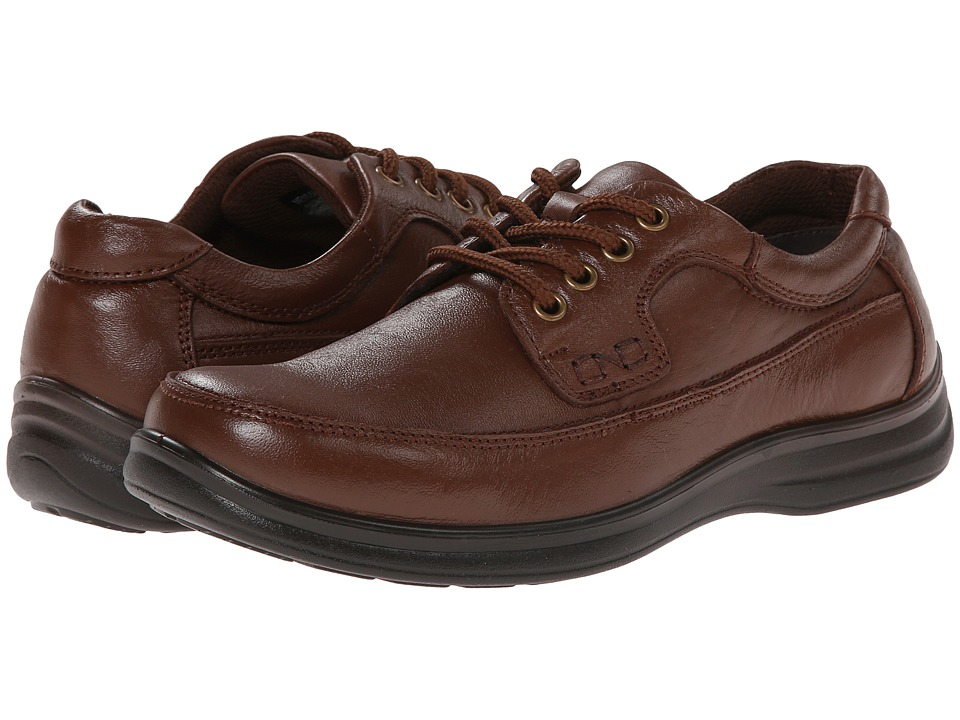 Nunn Bush - Mo Moc Toe Oxford (Cognac) Men's Lace up casual Shoes