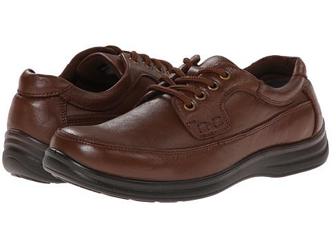 Nunn Bush - Mo Moc Toe Oxford (Cognac) Men's Lace up casual Shoes