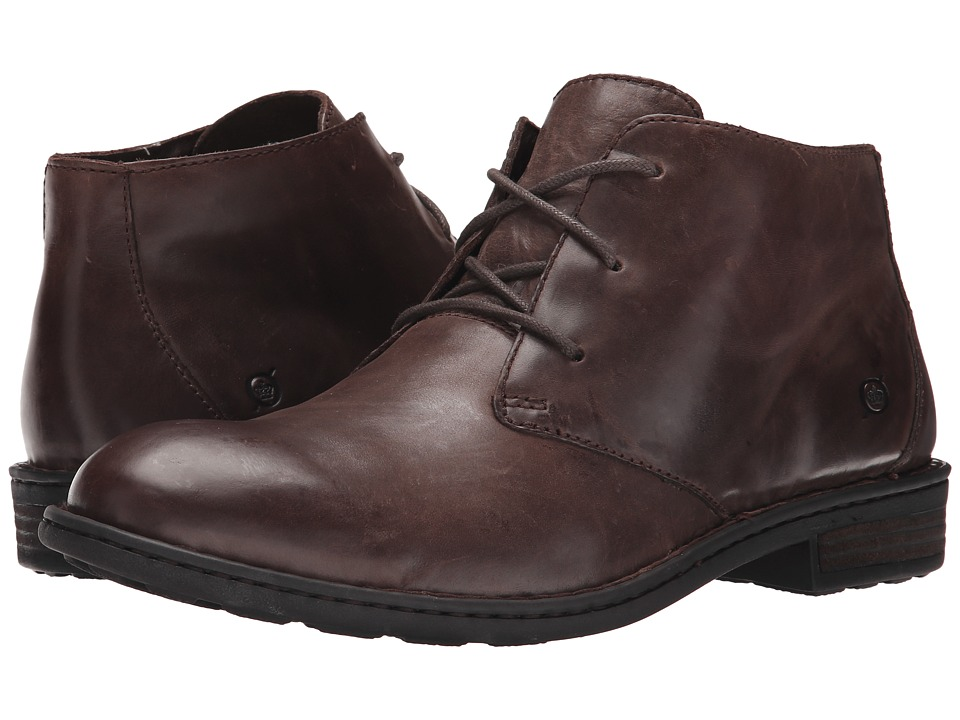 Born - Twain (Espresso Full Grain) Men's Lace-up Boots