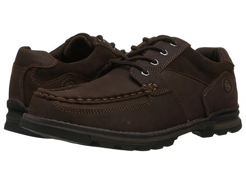 Nunn Bush - Plover Moc Toe Oxford (Brown) Men's Lace up casual Shoes