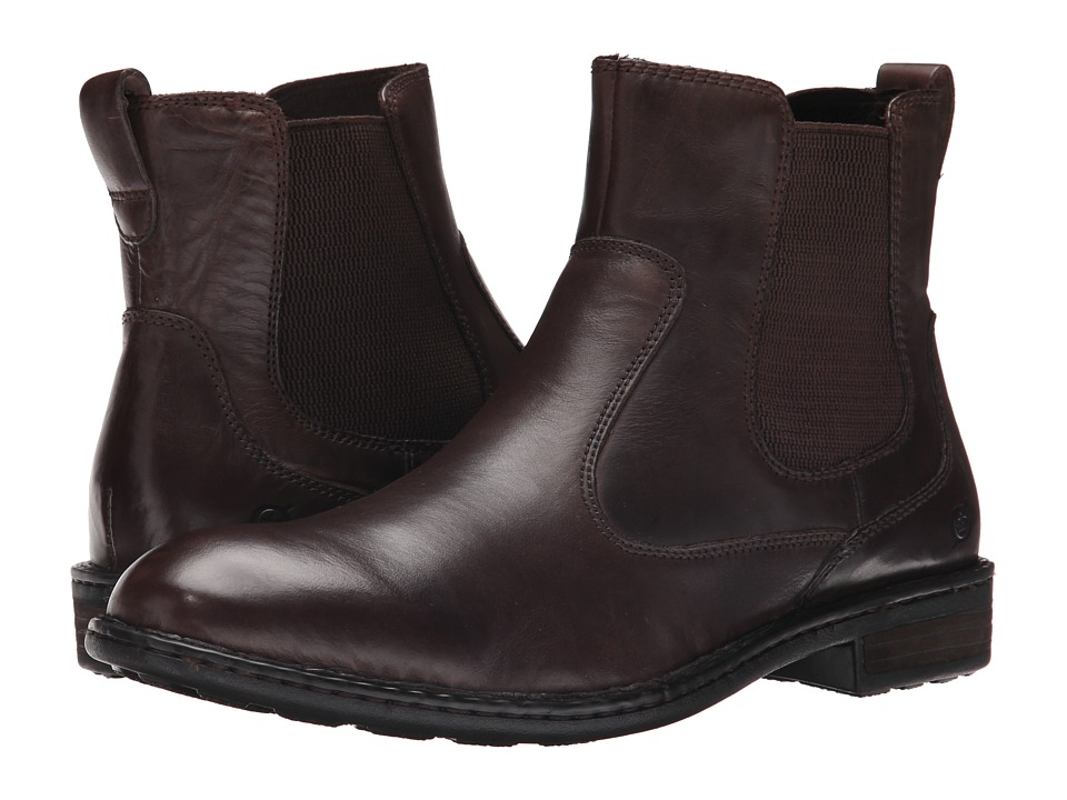 Born - Mac (Espresso Full Grain) Men's Boots