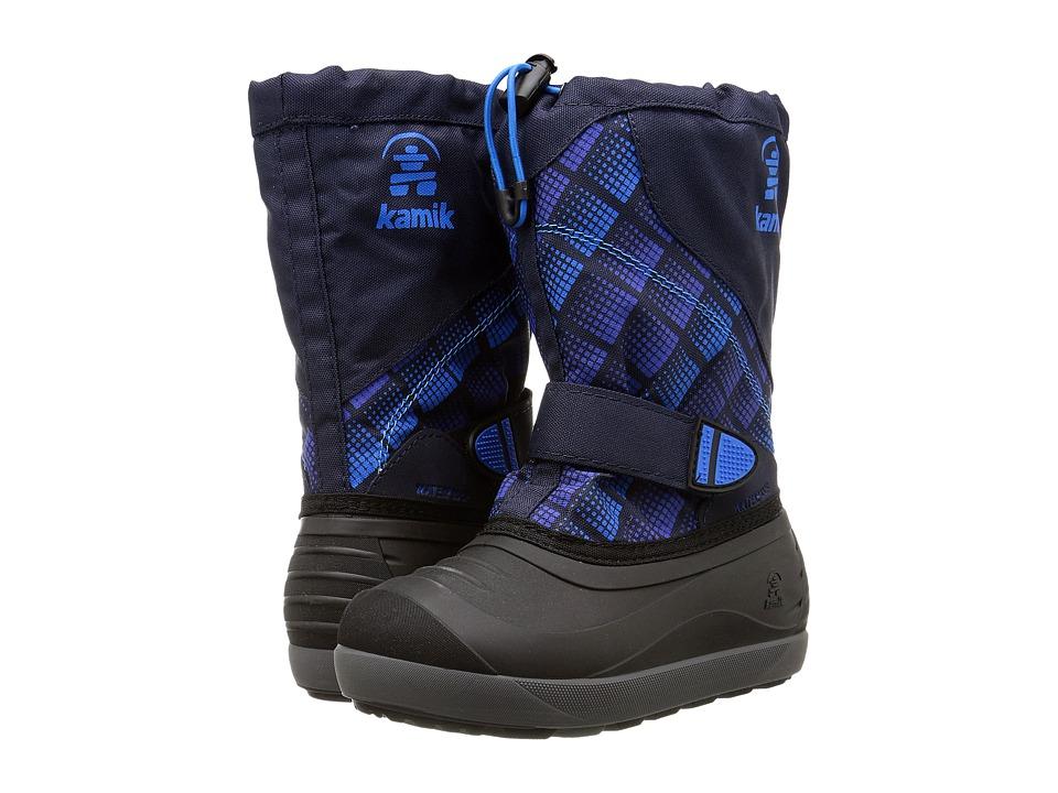Kamik Kids - Skiland2 (Toddler/Little Kid/Big Kid) (Navy/Blue) Boys Shoes