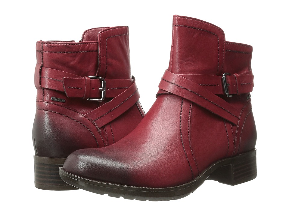 Rockport - Cobb Hill Caroline (Red) Women's Zip Boots