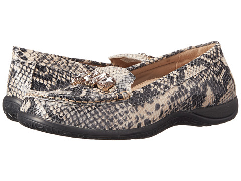 VIONIC - Charm Pacific Loafer (Natural Snake) Women's Slip on Shoes