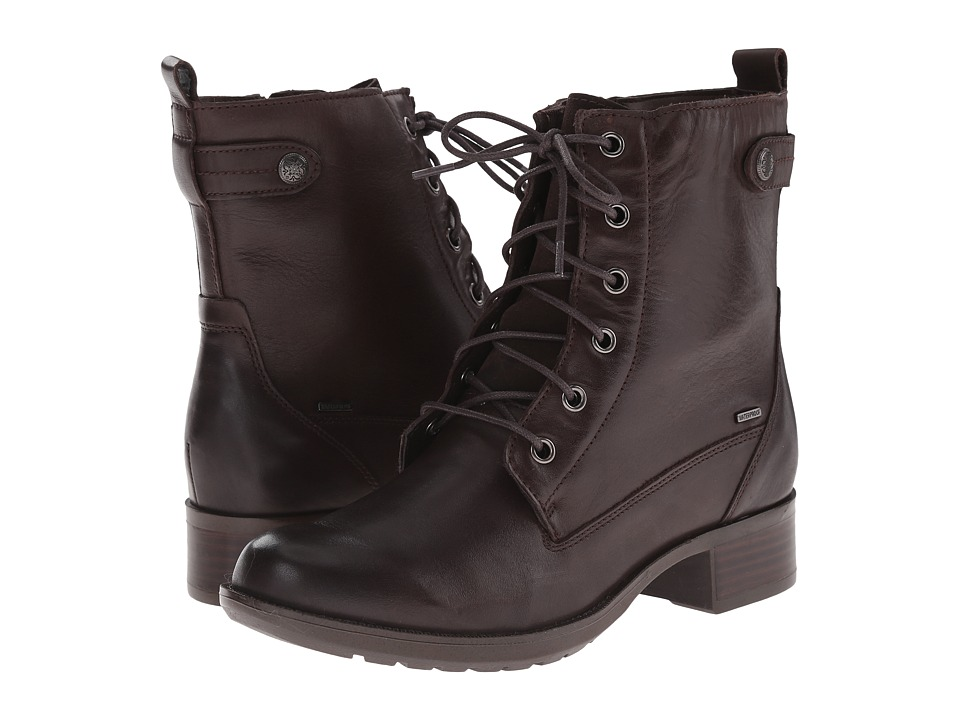 Rockport Cobb Hill Collection - Cobb Hill Carrie (Brown) Women's Lace-up Boots