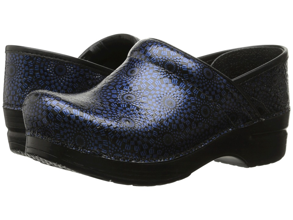 Dansko - Professional (Navy Medallion) Women's Clog Shoes