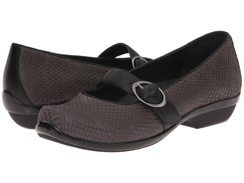 Dansko - Orla (Grey Snake) Women's Shoes