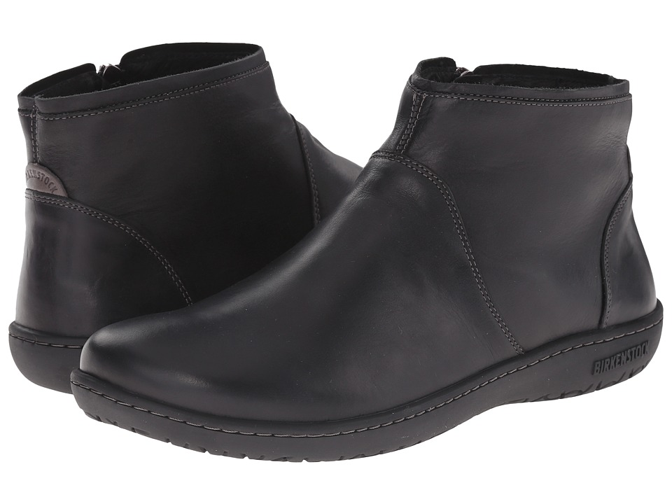 Birkenstock - Bennington (Black Leather) Women's Zip Boots