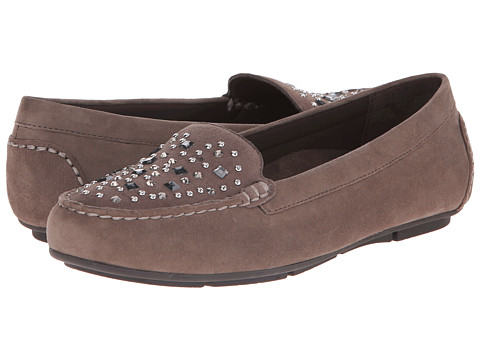 VIONIC - Chill Athens Loafer (Taupe) Women's Slip on Shoes