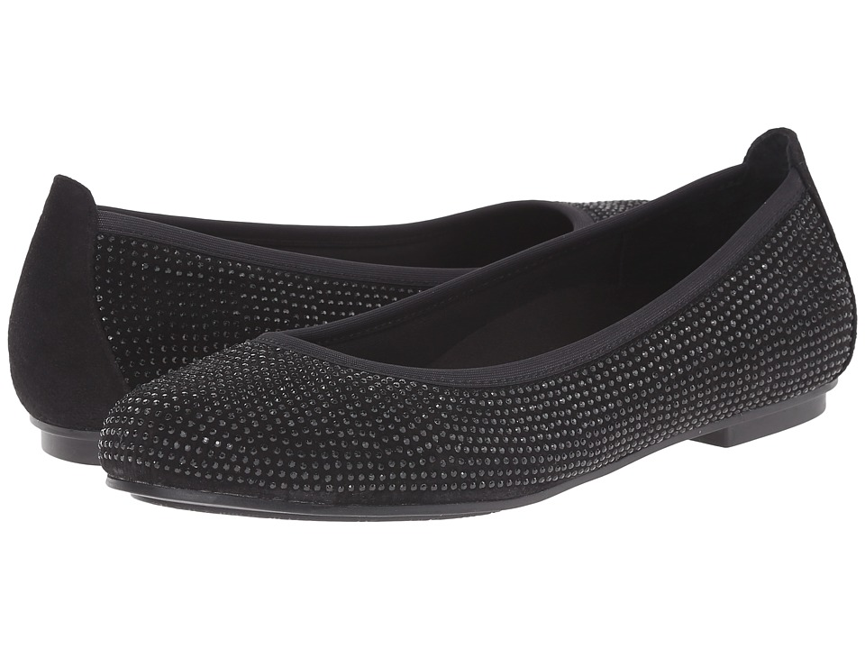VIONIC - Spark Willow Ballet Flat (Black) Women's Dress Flat Shoes