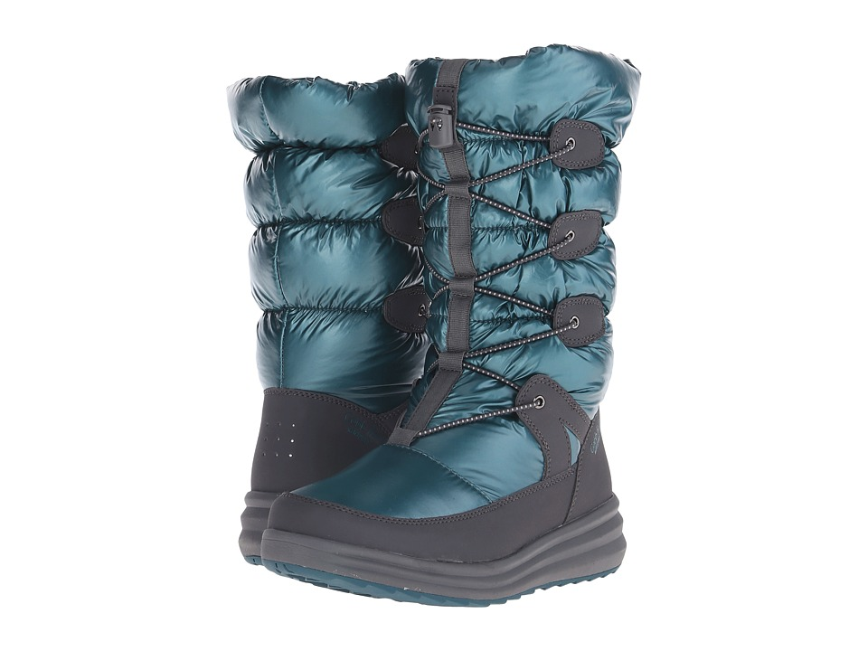 Rockport Cobb Hill Collection - Brenda (Teal) Women's Waterproof Boots