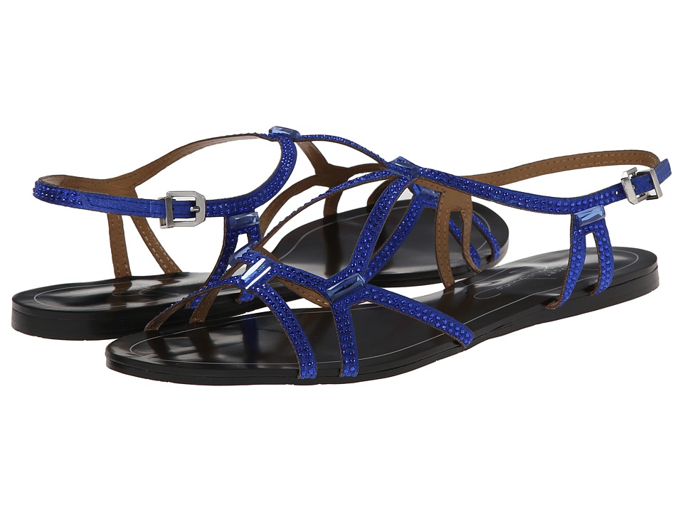 Report - Sarasota (Blue) Women's Sandals