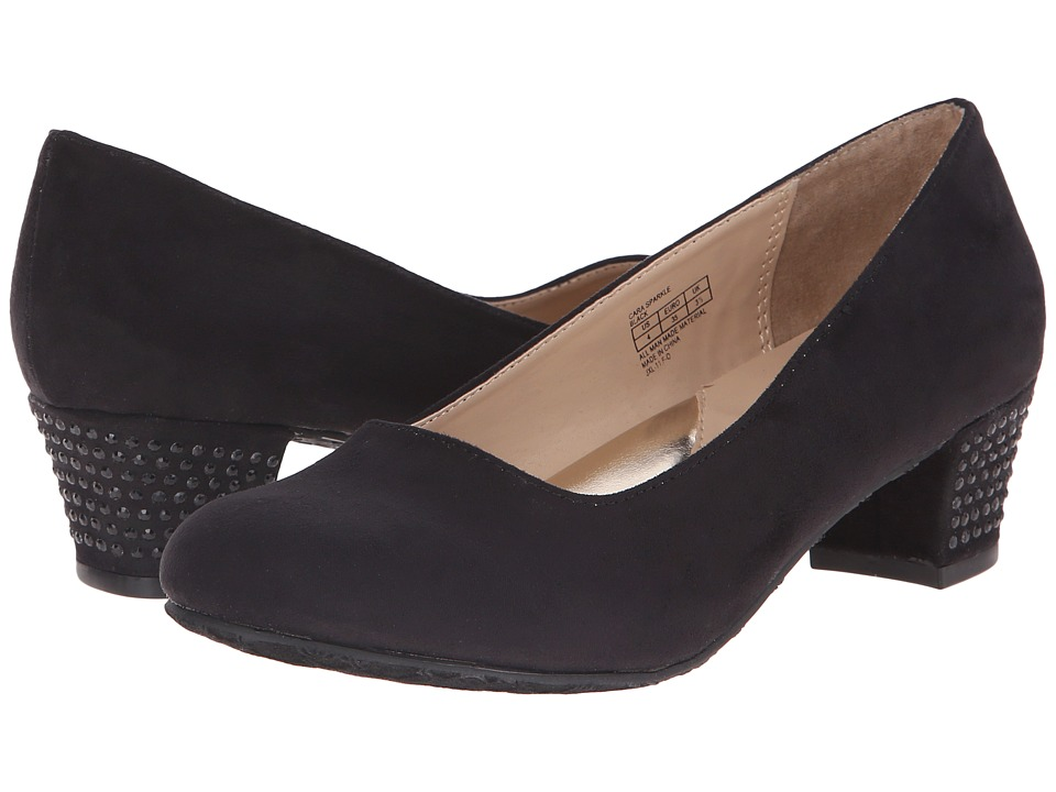 Ivanka Trump Kids - Cara Sparkle (Little Kid/Big Kid) (Black) High Heels