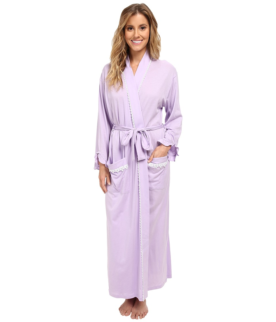Eileen West - Picture Perfect Ballet Wrap Robe (Lavendar) Women's Robe