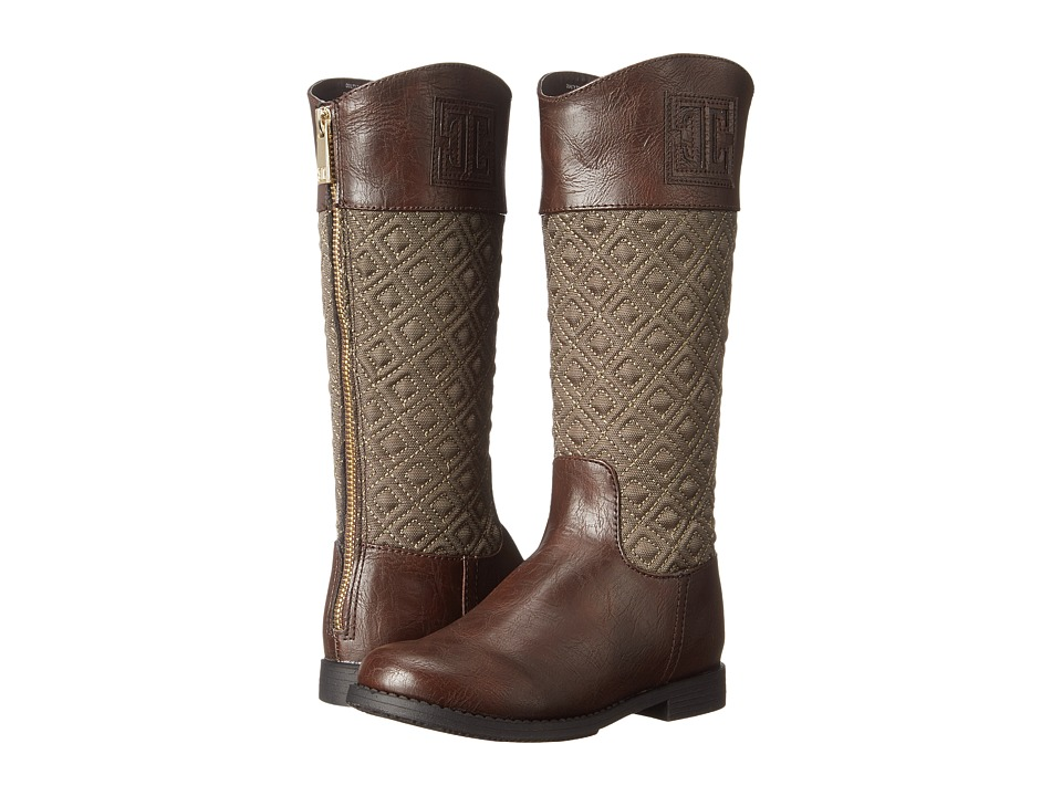 Ivanka Trump Kids - Quilty Tall Boot (Little Kid/Big Kid) (Brown) Girls Shoes
