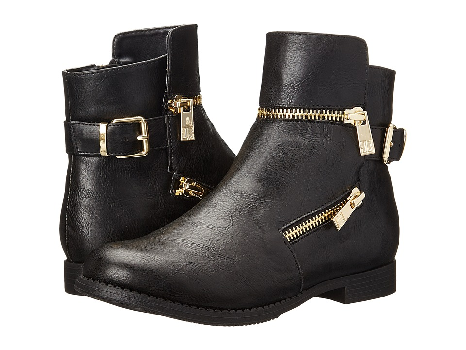 Ivanka Trump Kids - Jordan Zip (Little Kid/Big Kid) (Black) Girls Shoes