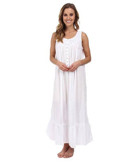 Eileen West - Valley of the Moon Ballet Gown (White) Women's Pajama