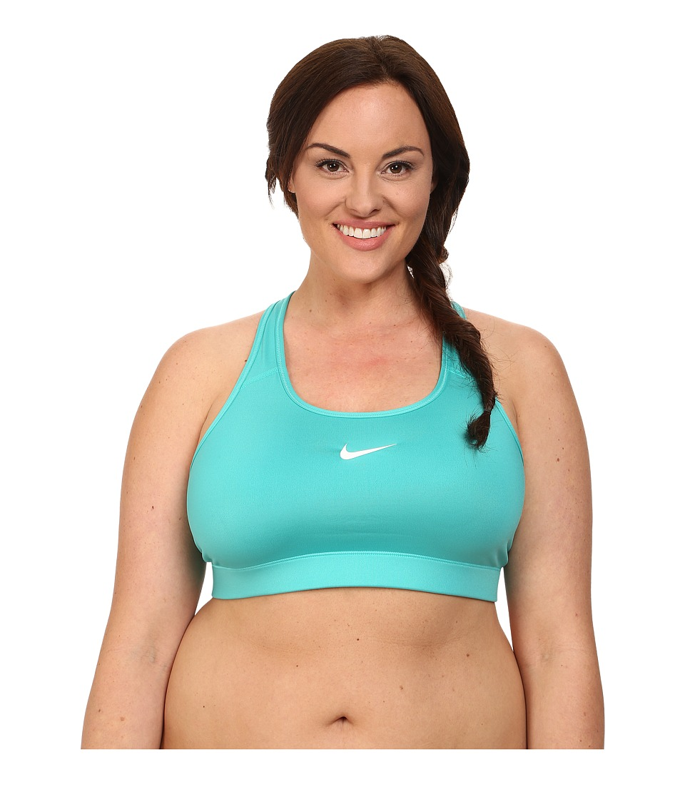 Nike - Pro Victory Compression Sports Bra Extended (Light Retro/White) Women's Bra