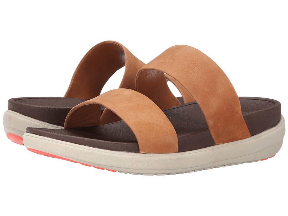 FitFlop - Loosh Slide Nubuck (Tan) Women