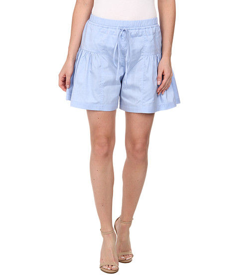 Rebecca Minkoff - Beverly Shorts (Steel Blue 1) Women's Shorts