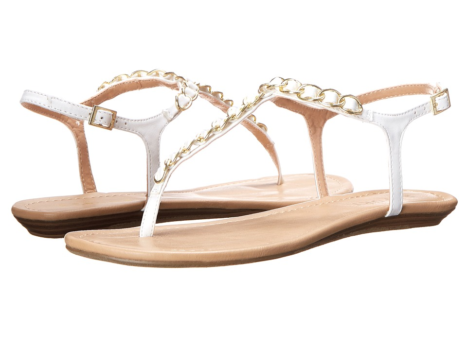 Report - Lawrence (White) Women's Sandals