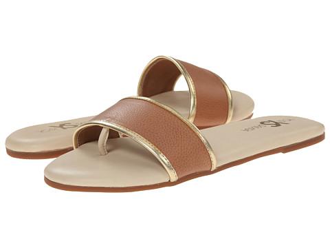 Yosi Samra - Rory Soft Leather Sandal (Sienna/Pure Gold) Women