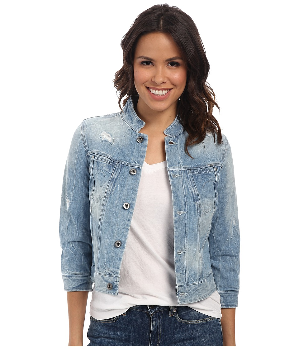 G-Star - Midge Dumont Cropped Jacket (Light Aged Destroy) Women