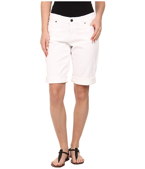 CJ by Cookie Johnson - Honor Roll Up Bermuda in Optic White (Optic White) Women