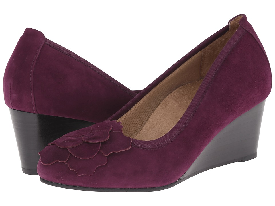 VIONIC - Elevated Hayes Wedge (Plum) Women