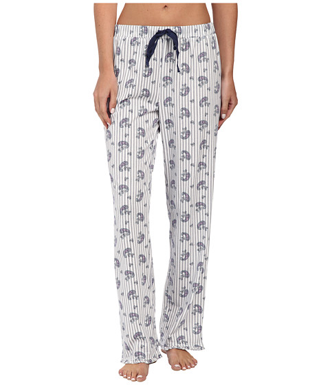 Jockey - Paisley Stripe Long Pants (Paisley Whisper Stripe) Women