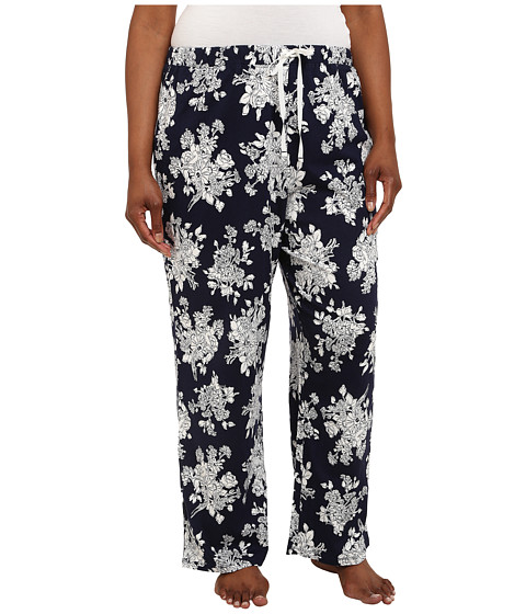 Jockey - Plus Size Parisian Bouquet Long Pants (Parisian Bouquet) Women