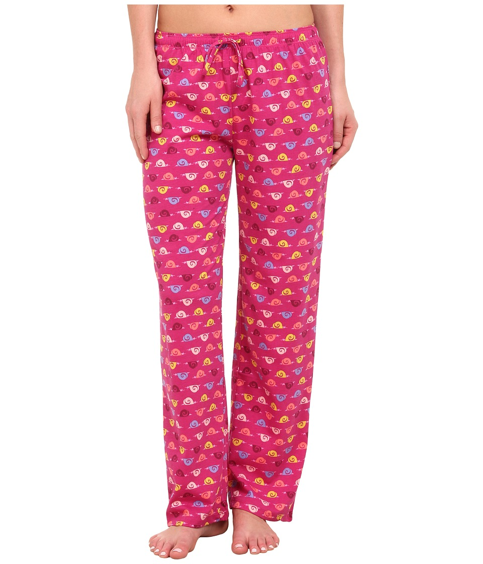 Jockey - Printed Long Pants (Sleepy Snails) Women's Pajama