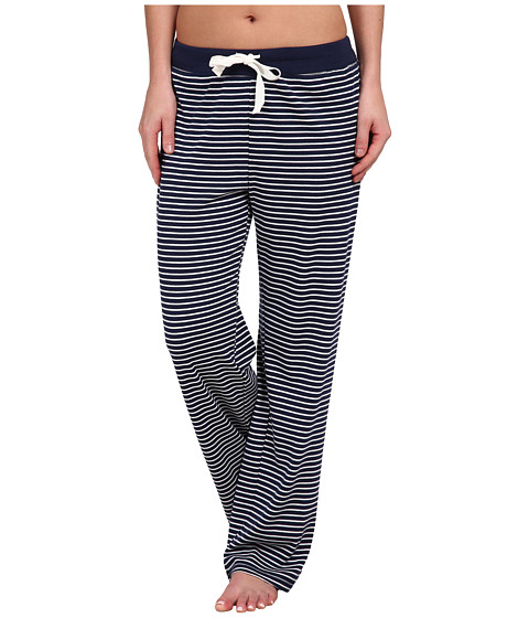 Jockey - Striped Long Pants (Fall Stripe Midnight) Women